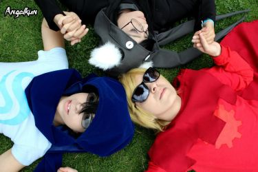 .: Just Trio :. by Freya-cosplay