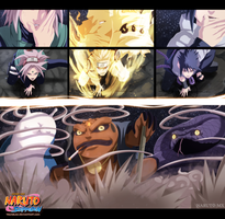 Naruto 633 - Colouring  [UPDATED] by RamzyKamen