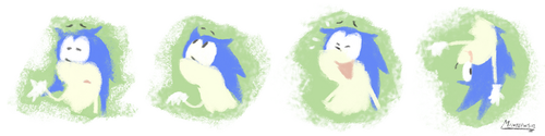 Sonic Expression practice by sapphii