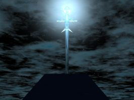 The Crystal Sword - bigbd1978 by backgrounds