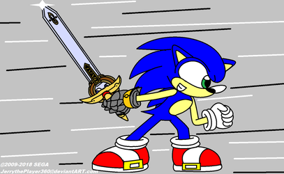 Sonic and the Black Knight Art by JerryGamer720