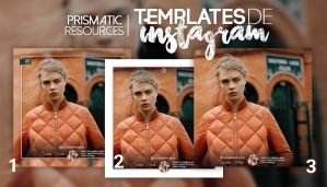 PR instagram templates. by prismatic-resources