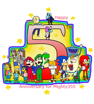 5th Anniversary Mighty355 by Mighty355