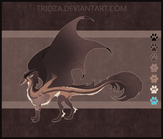 Dragon Design Auction [CLOSED] by Trioza