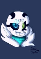 MysticalNeon! Sans again owo by cutelittlepikakitty