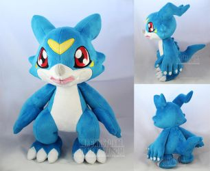 Veemon by MagnaStorm