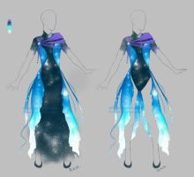 Outfit adopt: Galactic dress - Closed by Sellenin