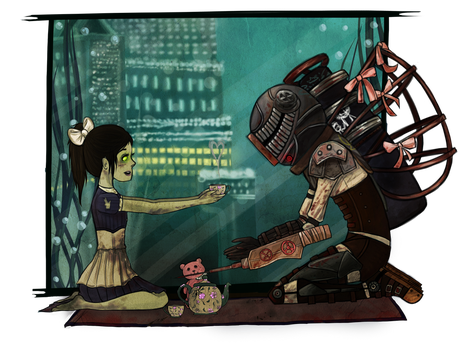 A small gathering by evil-kitty-chan