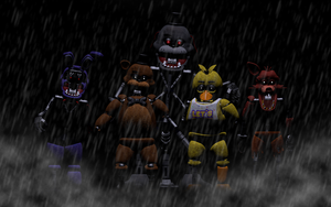 Classic Ignited Animatronics by BlackiieProductions