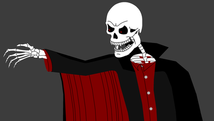 Vampire Skeleton by dolst