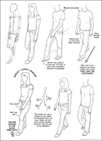 Walking Tutorial 01 by DerSketchie