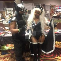 Wolvie and Storm by ShawnAtkinson