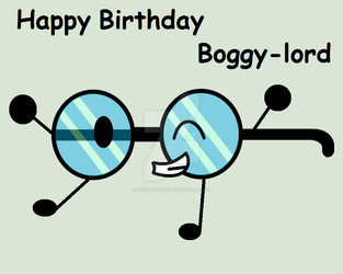 Happy Birthday Boggy-lord by Neko-Lockie