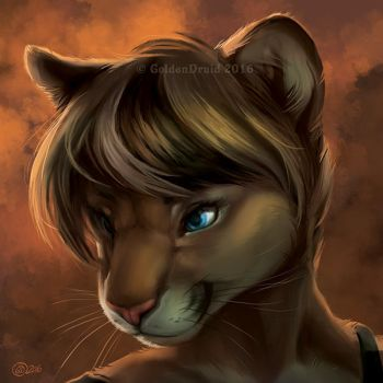 Mishi SpeedPaint by GoldenDruid