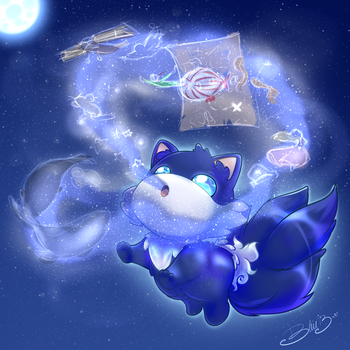 PC ~ Bloo is the color by ITBluebeadTI