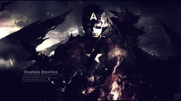 Captain America the Battle End - wallpaper V6 by Mido-Vlan