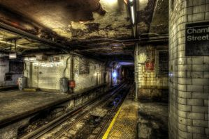 Chambers Street Subway VI by marcialbollinger