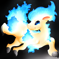 Shiny Ponyta by lavaquil