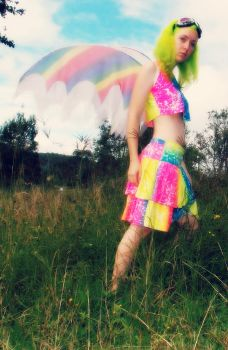 Fluoro Fairy 1 by monstatofu2011