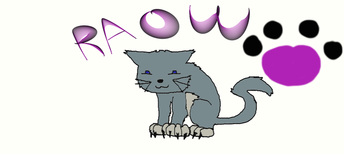 Raow Cat by Dralf101
