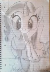Trixie Saddlebags Hand Drawn by Littlepony115