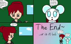 Intermission Comic I- I Saw Her by anilovespeace
