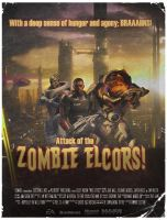Left 4 Effect - Zombie Elcors by Berd89