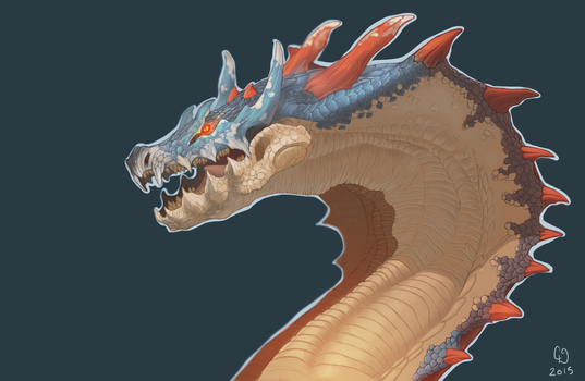 Lagiacrus by DarkMasterOfDragons