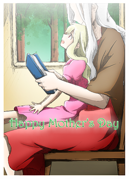 Shion and Mary: Mother's Day by AngelDaniela