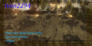 World in Conflict Signature by Ivan2294