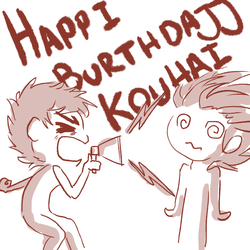 To the best of all kouhais by Heise-kun