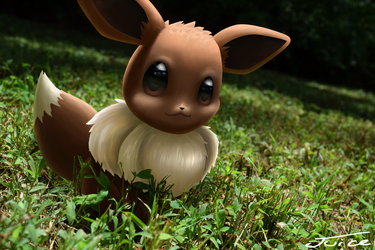 You Encounted An Eevee by Neonunderground