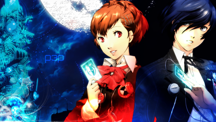 Persona 3 Portable Wallpaper by ying-yu
