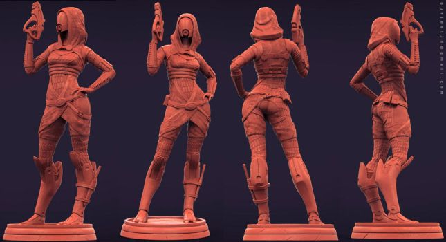 Collectible Tali Clay by Gurjeet3d
