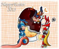 Happy Easter 2013 Hunters by Kamira-Exe