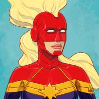Daily Sketches Captain Marvel by fedde