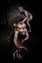 Silent Hill Under Attack by phoelixde
