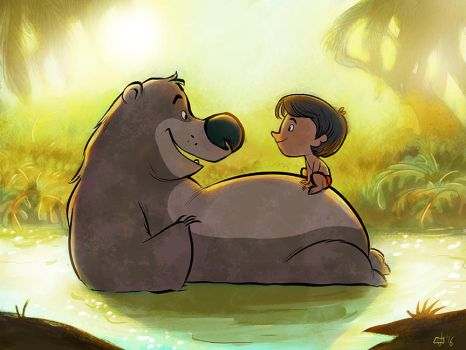 The Jungle Book by JeffVictor