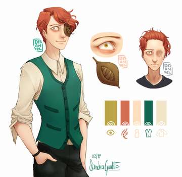 Joel - Character Reference by GualitoSandra