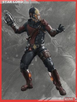 MARVELNOW StarLord Final by dbvinal