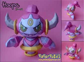 Hoopa Papercraft by Olber-Correa