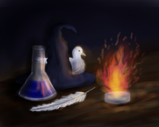 Quimica y magia by Chess-Kitten