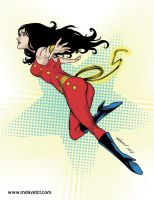 Donna Troy  COMIC VIXENS contest by mdavidct