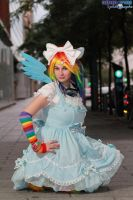 Rainbow Dash Lolita My Little Pony by KyuProduction