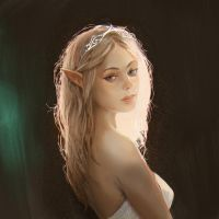 Elf Girl by yoggurt