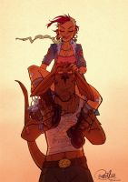Tank Girl Sweethearts by blitzcadet