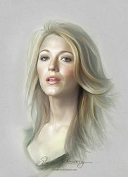 Pretty Face - Blake Lively by artistamroashry