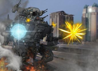 ARM-senal Strong's Battle in Downtown Orlando by blackzig