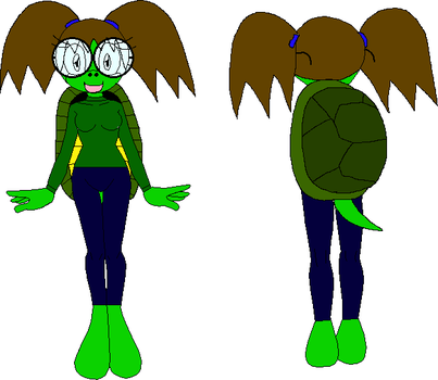 Female Mobian Turtle 10 by XxRobotChaoxX