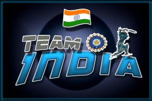 Sport Theme Team India by abhinendrachauhan